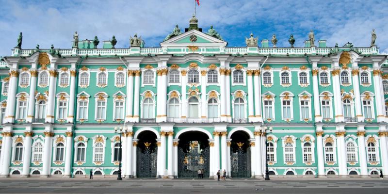 Эрмитаж в Санкт-Петербурге, Россия