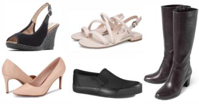 Базовая обувь в гардеробе женщины