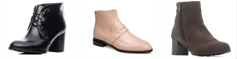 Базовая обувь в гардеробе женщины, базовые сапоги, ботильоны