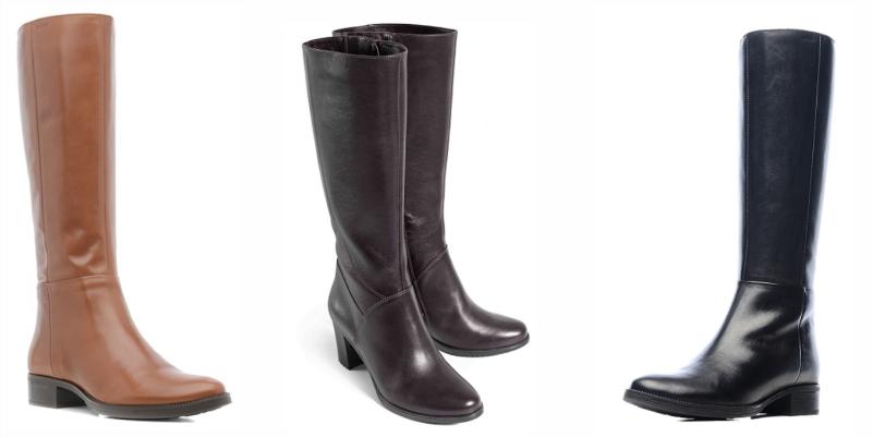 Базовая обувь в гардеробе женщины, базовые сапоги, высокие сапоги