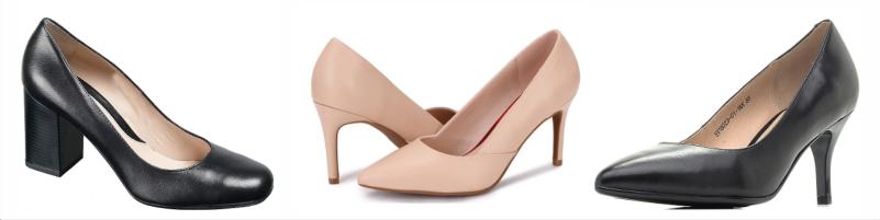 Бозовая обувь в гардеробе женщины, базовые туфли