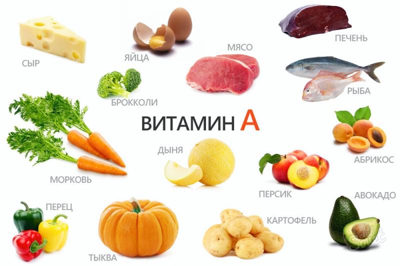 Как получить красивый загар, витамин А