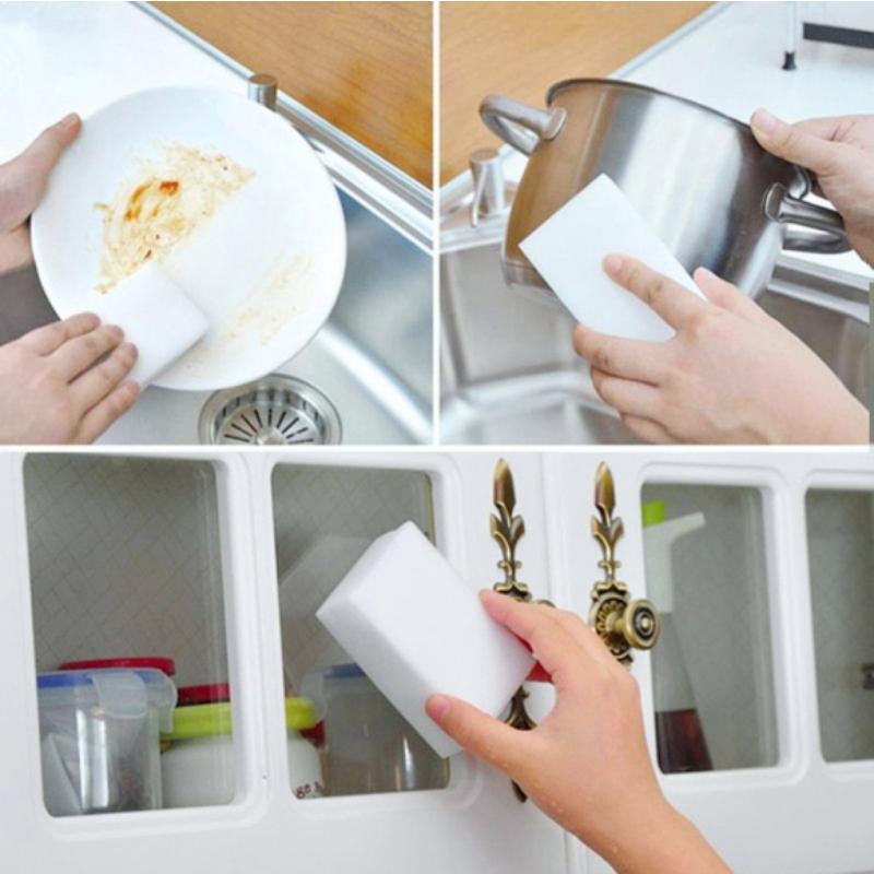 Меламиновая губка для посуды