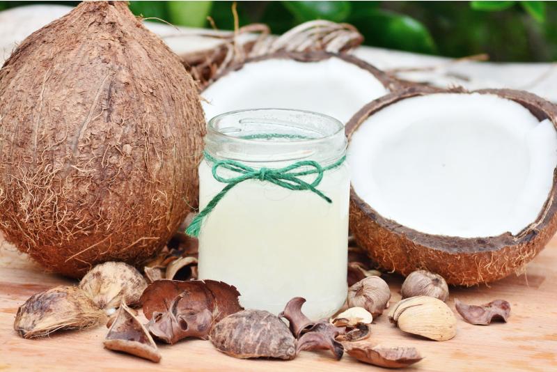 Продукты против депрессии - кокос и кокосовое молоко